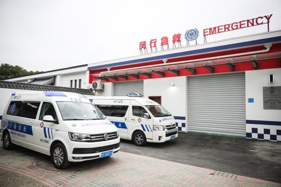 市府实事项目闵行梅陇急救分站提前建成,同比去年急救反应时间少4.22分钟