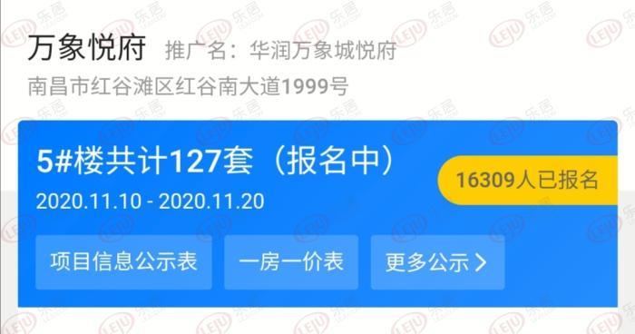超1.6万人摇127套房!华润万象城中签率仅0.77% 摇号今日开启