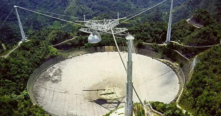 美国将拆除阿雷西博射电望远镜