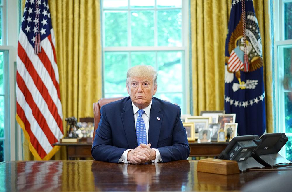 美媒:特朗普本周末将参加G20峰会线上会议