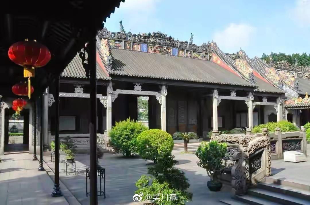 重访岭南建筑艺术明珠-陈家祠