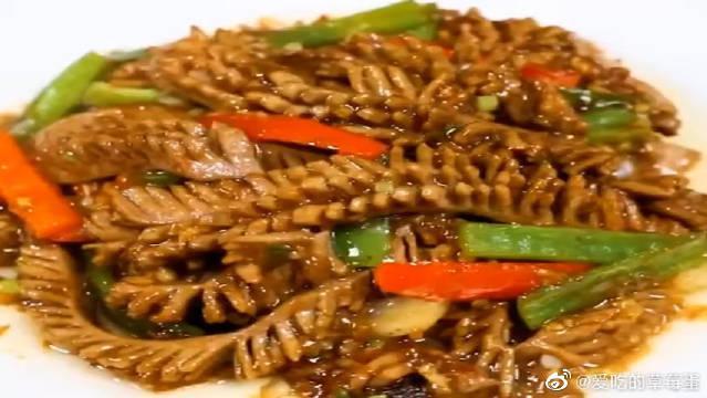 大厨教你麦穗腰花的做法,鲜香滑嫩味道棒,看着就有食欲!