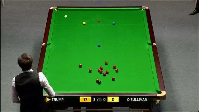 2012年大师赛1/4决赛,特鲁姆普与奥沙利文之战…………