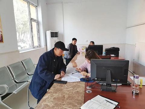 汾阳市肖家庄镇综合便民服务中心投入使用