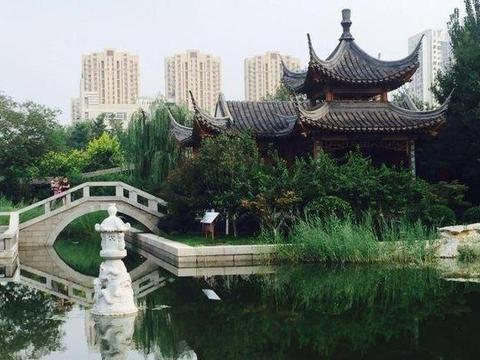 """藏在天津的""""江南园林"""",有望被4A""""砸中"""",门票0元人气颇高"""