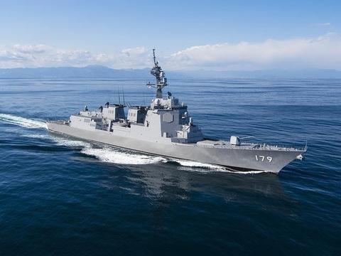 二号舰比首舰先下水!日本新护卫舰造价两倍于054A,火力弱一半