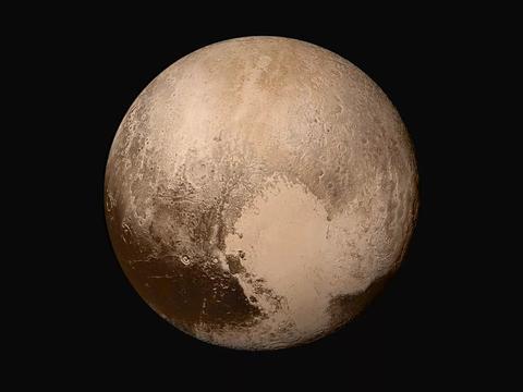 天文突破!冥王星的地貌景观与地球惊人相似