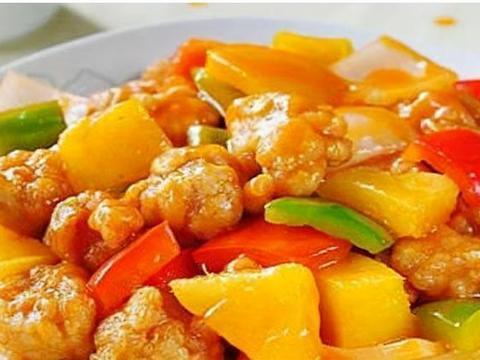 美味家常菜:菠萝咕噜肉,羊排骨粉丝汤,香菇酿肉丸