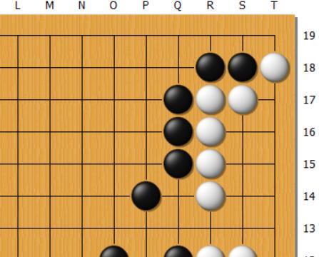 每日一题 | 难度5D,白棋的眼位空间较大,黑要从何入手?