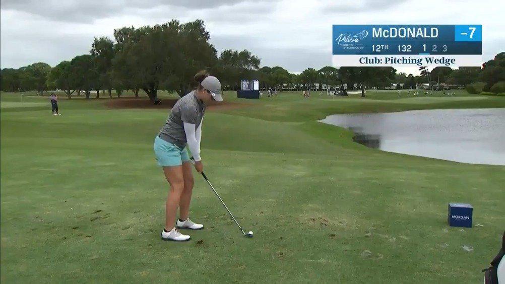 LPGA-鹈鹕女子锦标赛阿莉-麦克唐纳德第三轮