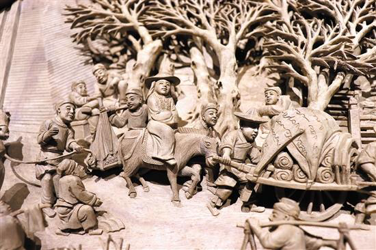 (视频)潮州广济桥修复工程木雕负责人李中庆:贯通潮州、东阳两大木雕流派的人