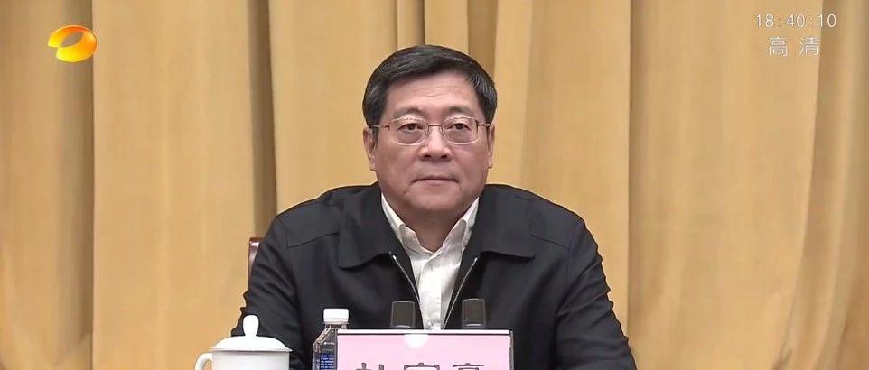 卸任湖南省委书记 杜家毫发表离任感言(附全文)