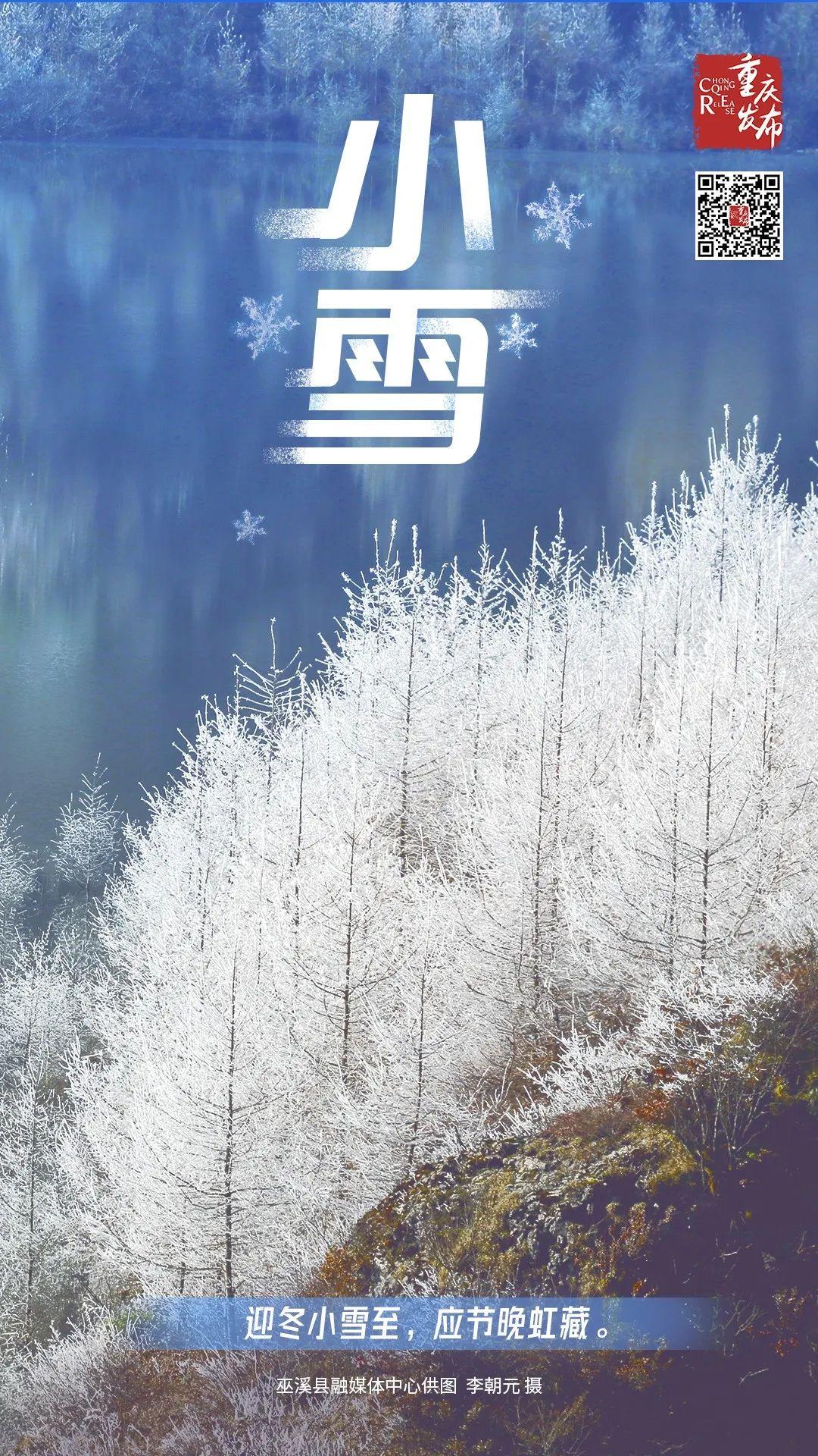 今日,小雪图片