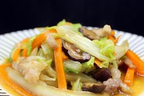 番茄鱼片,咖喱鸡块,三丝炒大白菜的做法