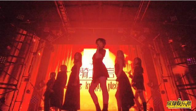 """近日,偶像女子组合Hickey喜祺""""骑士宣言""""全国巡演首站在成都东……"""
