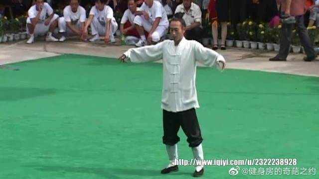 赛事撷影 2005年第五届全国武术馆校武术比赛 009 崆峒太极拳展示