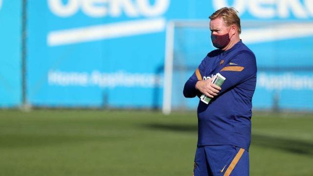 西媒:若哈维成为巴萨主教练,梅西将会留队!科曼步塞蒂恩后尘?