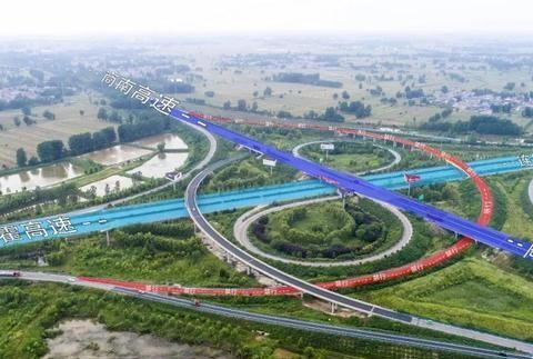 商丘这段修了小半年的高速匝道恢复通车