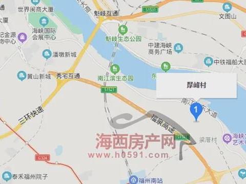 919亩!福州三江口将建超级酒店项目