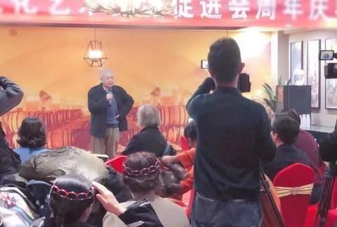 唐山市文化艺术交流促进会周年庆典活动在荣园举行!