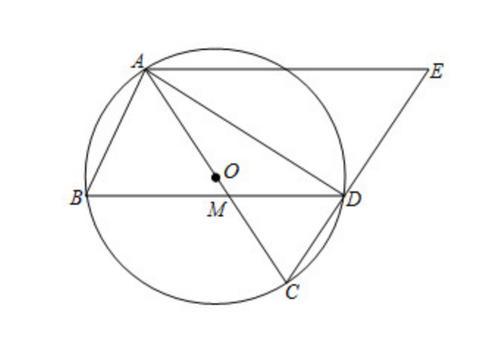 此题属于中考常见题型,求圆中线段的长,利用参数构建方程是关键