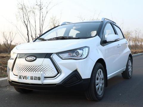 评测江淮新能源2020款iEV6E,发现国民级纯电微车的优势