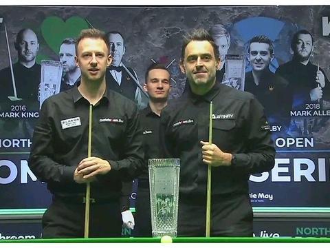 北爱尔兰公开赛:特鲁姆普9-7奥沙利文夺冠,成赛事三连冠第一人