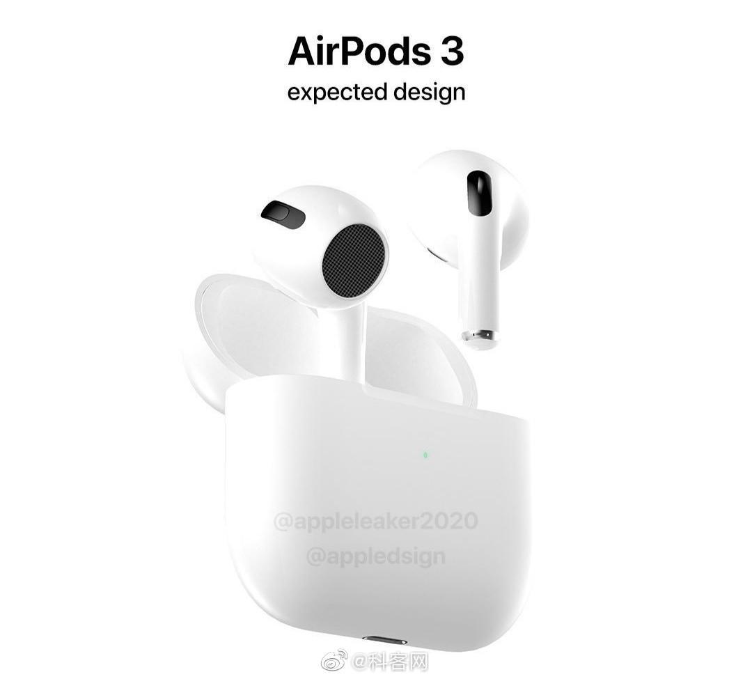 据说AirPods 3的设计会向AirPods Pro靠拢,看着还蛮不错…………
