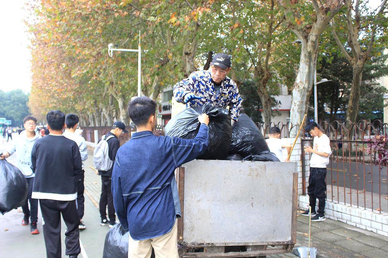 创美丽校园,武汉理工大学交通学院,开展大学生劳动教育