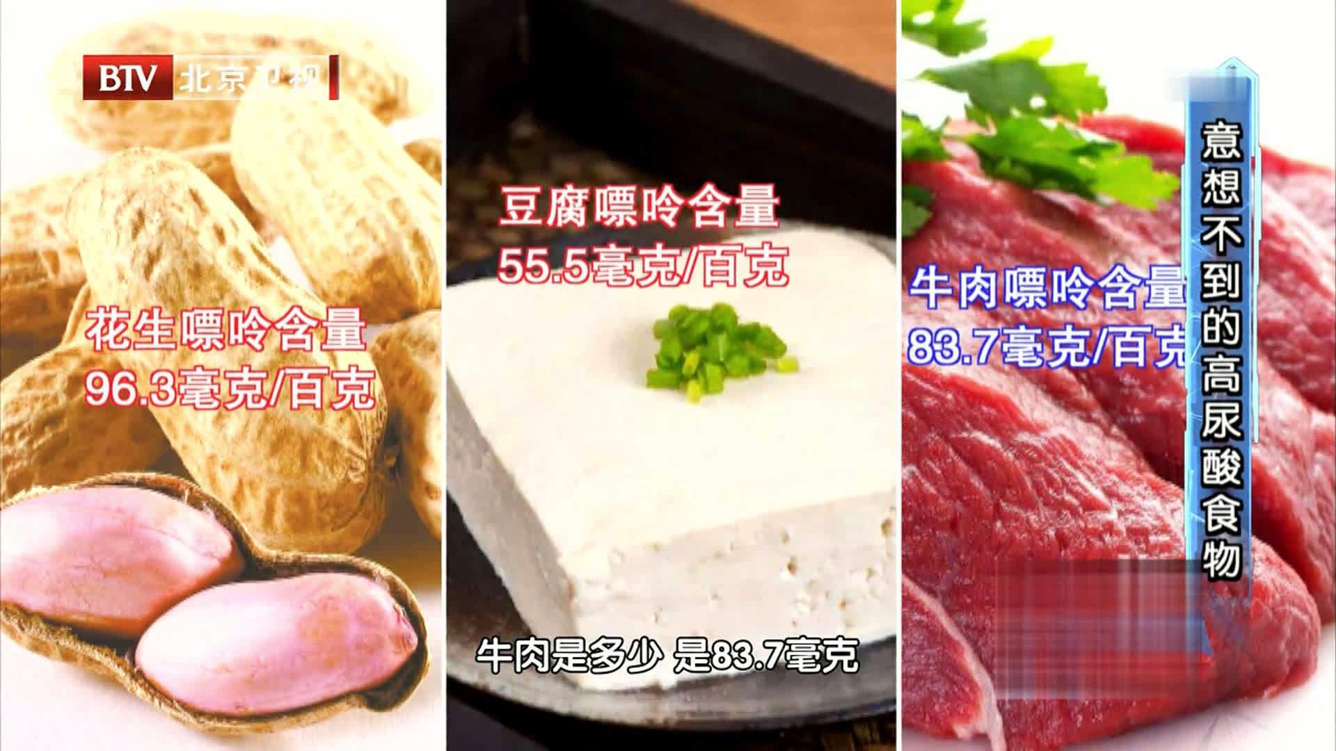 花生、芦笋等食物嘌呤含量过高,肾脏不好的人慎食!