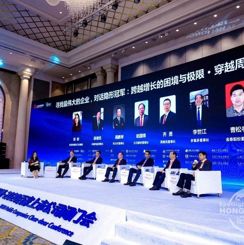 论道大虹桥 • 2020百家上市公司闭门会在上海闵行顺利召开