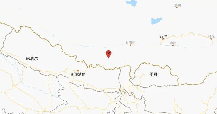西藏日喀则市定日县发生3.1级地震