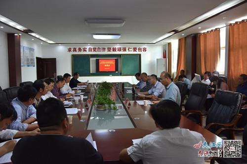 金溪县实验中学成功举办与高校合作办学座谈会(图)