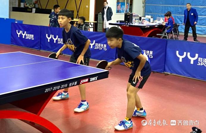 三百余小将挥拍大战,青岛市乒乓球锦标赛落幕