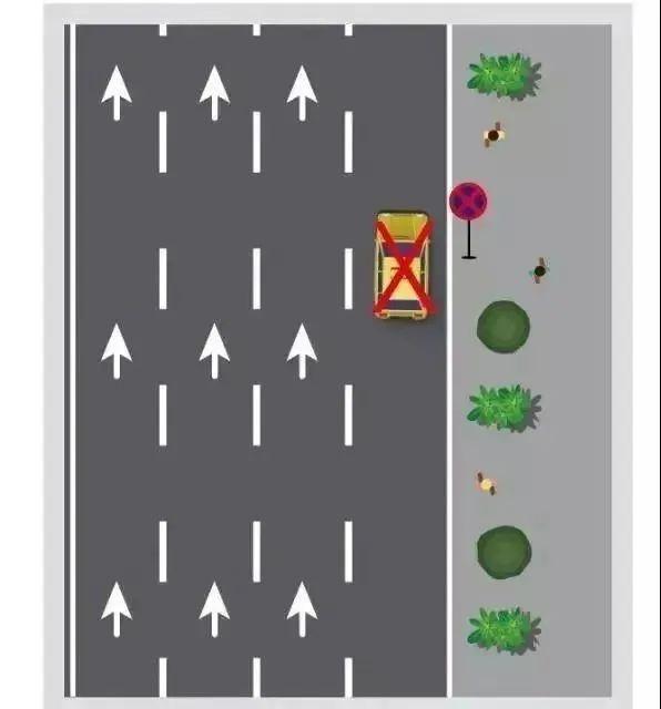 康巴什交警提示:这些地方,禁止停车!