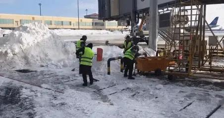 哈尔滨机场保障能力基本恢复 暴雪导致航班取消848架次