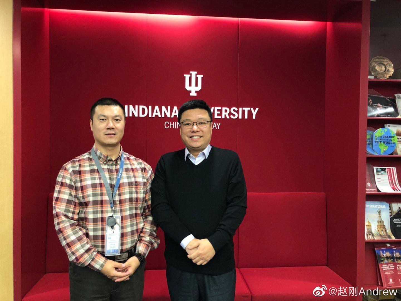 今天拜访了美国名校印第安纳大学中国办公室