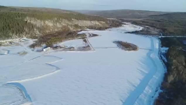 黑龙江 神州北极:冰冻气泡奇观再现漠河