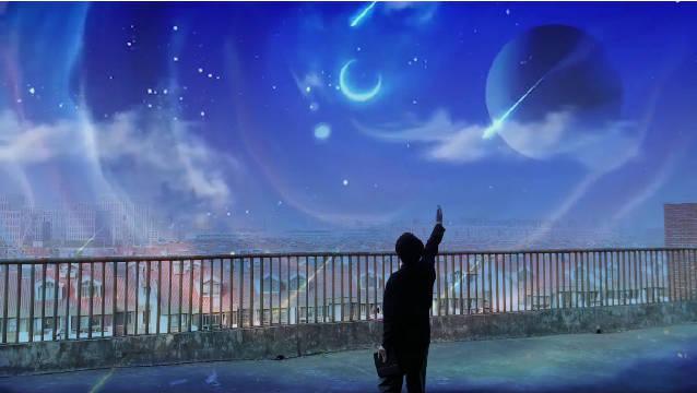 你看过流星雨划过 吗?🌠 小江邀你一起来看流星雨💫