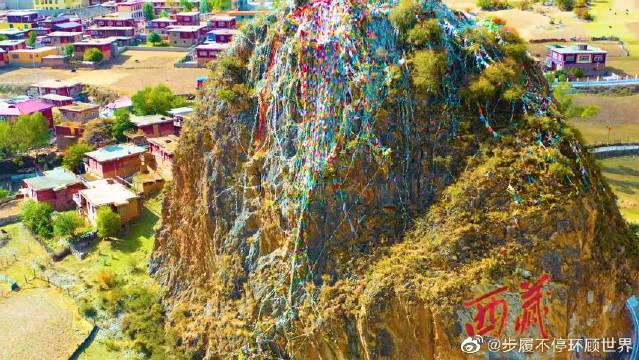 江达秋景美了整个昌都,岗托民俗村…………