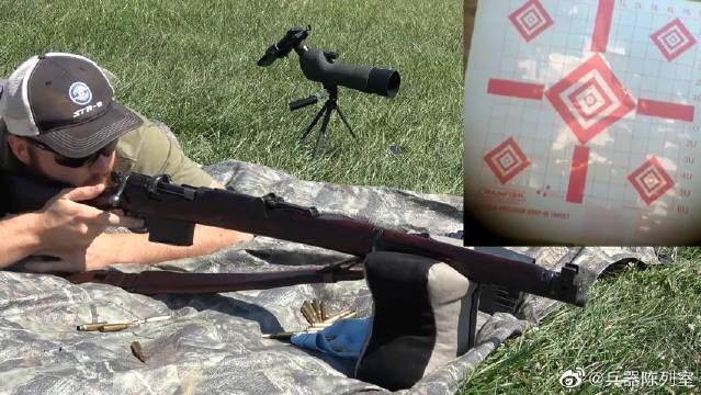 """No1.Mk3手动步枪,外号""""英七七""""户外靶场射击测试"""
