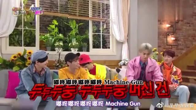珉豪展示爆笑个人技! key不敢看,害羞是成员们的份!