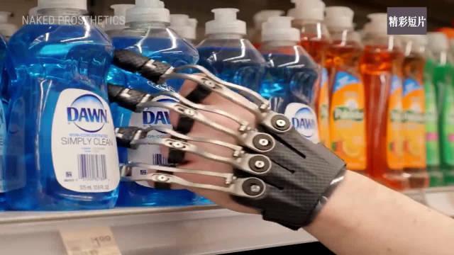 这些科技的应用很奇妙,这些假肢能够完成非常精细的动作了!