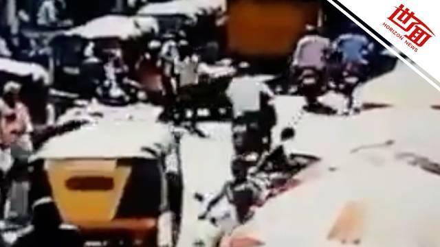 印度政党领导人被枪杀