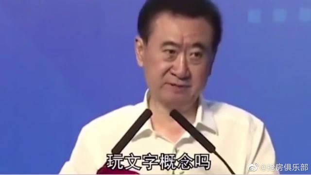 """王健林回应""""首负"""":房地产企业负债不等于借债"""