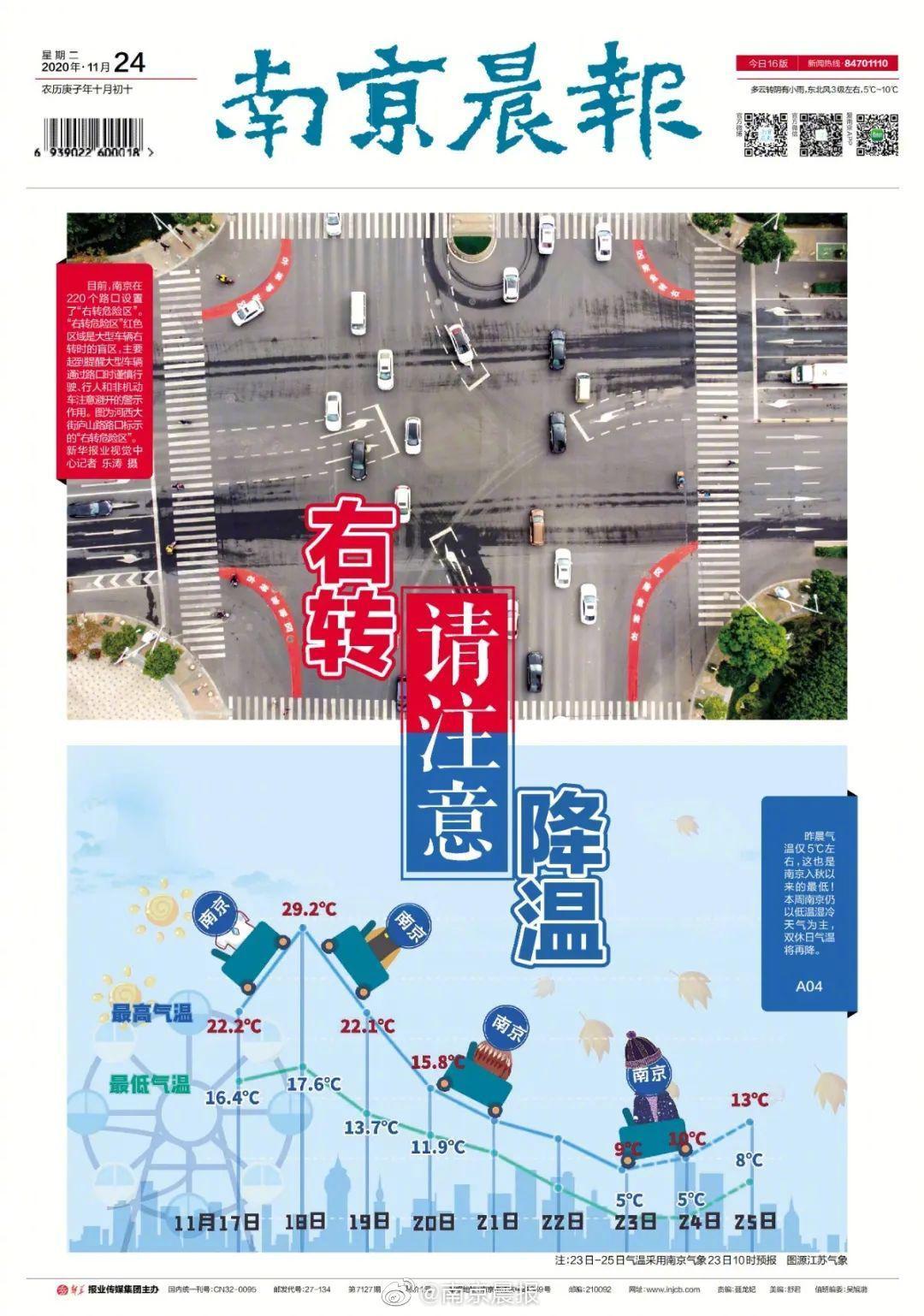 南京晨报11月24日电子版