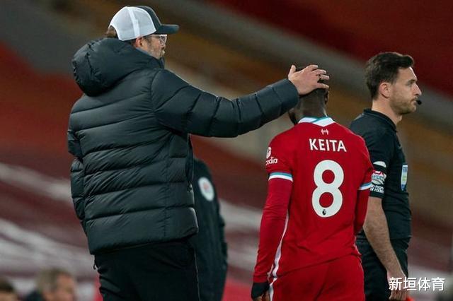 纳比·凯塔、沙奇里同告受伤,利物浦伤兵潮冠绝英超!