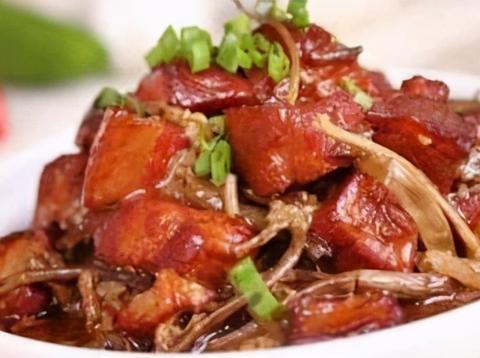 美味家常菜:冬瓜酿肉,茶树菇红烧肉,冬瓜枸杞金针菇姜丝汤