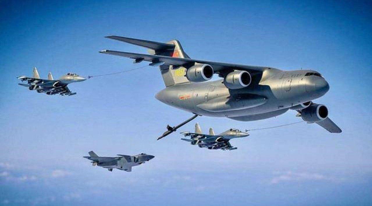 歼20实现空中加油,航程将覆盖整个南部海域