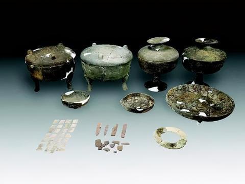 平遥古城东城墙外发现东周、金代古墓葬